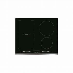 Plaque Induction Modulable : plaque induction sauteur 2 foyers 1 zone modulable inox ~ Premium-room.com Idées de Décoration
