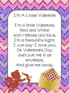 s day poems and songs simplycircle 575 | Im a little valentine