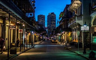 Orleans Quarter French Night Street Things Bourbon