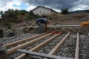 Bois Pour Terrasse Extérieure : construction d 39 une terrasse exterieure en bois maison ~ Dailycaller-alerts.com Idées de Décoration