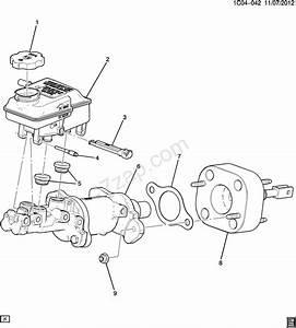 Gm Master Cylinder Diagram