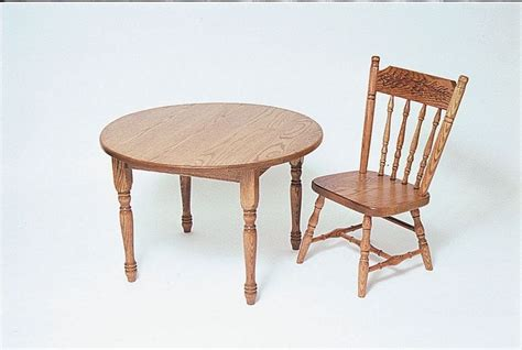 amish  kids wooden activity table  chairs