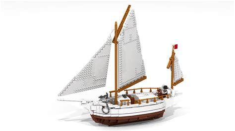 Joshua Slocum Boat by Lego Ideas Sailboat And Sailor Spray And Joshua Slocum