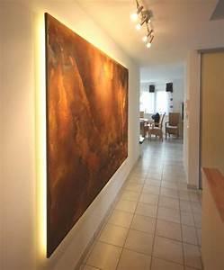Beton Effekt Farbe : ein wandpaneel in rostdesign wandgestaltung ~ Michelbontemps.com Haus und Dekorationen