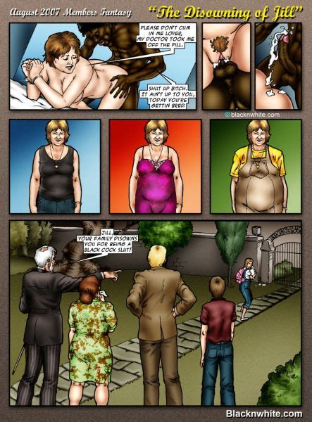Interracial cartoon sex fantasies