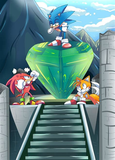 knuckles  echidna sonic  hedgehog  miles tails