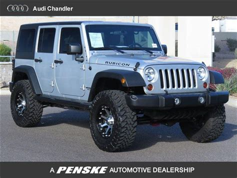 silver jeep lifted rubcon jeep in silver bullet jeep wrangler unlimited