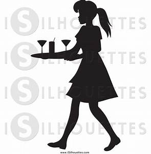 Royalty Free Cleaning Woman Stock Silhouette Designs