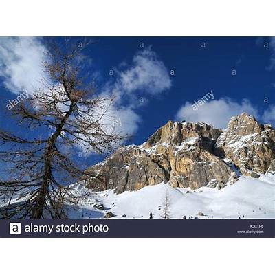 Lagazuoi Mountain Stock Photos &