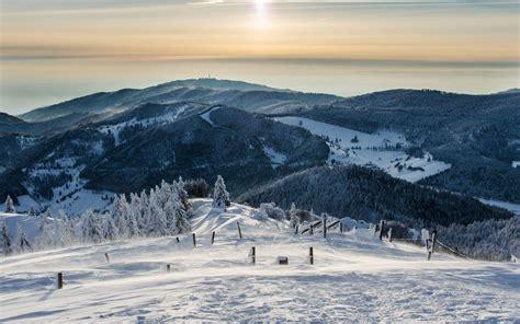 Im Winter by Berglandschaft Im Winter Hintergrundbilder