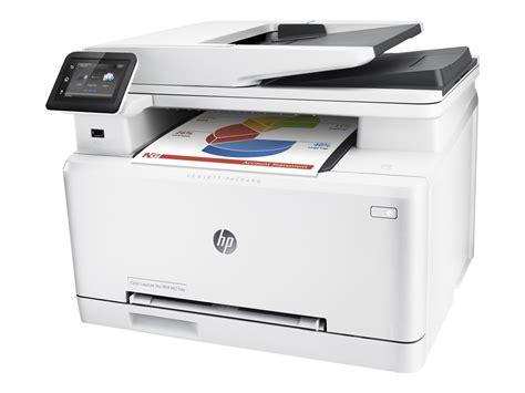 bureau multifonction hp color laserjet pro mfp m277dw imprimante