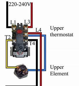 240 Volt Hot Water Heater Wiring Diagram