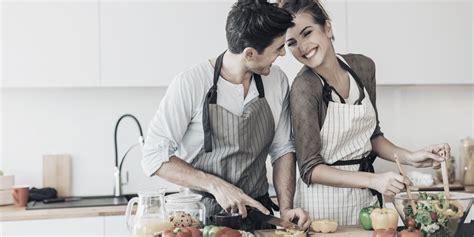 Couple Cuisine  Marie Claire