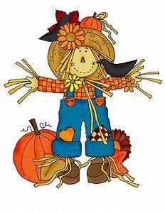 Pumpkin Scarecrow Clipart