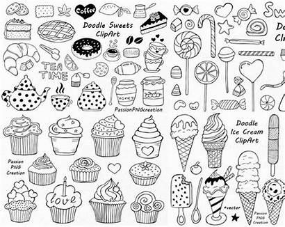 Clip Doodles Doodle Summer Clipart