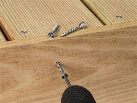 wood screws fasten wood  wood