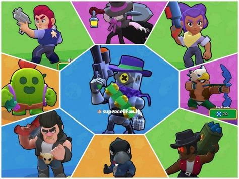 brawl stars characters list   characters