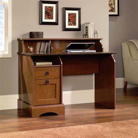 New Sauder Graham Hill Hutch Style Computer Desk Autumn