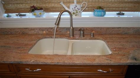 Swanstone Kitchen Sink Accessories by White Kitchen Sink Faucet River White Granite White