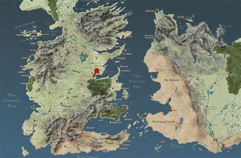 Carte Monde Of Thrones by Carte Interactive Of Thrones