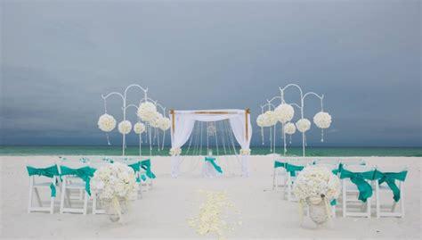 Real Destin Beach Weeding By Princess Wedding Co
