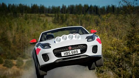 Jaguar F-type Convertible Rally Car Revealed