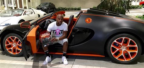 floyd mayweather buys  million bugatti veyron