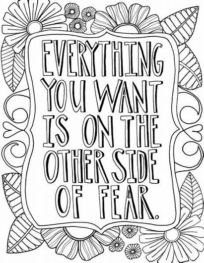 Coloring Everything Want Pages Adult Inspirational Floral