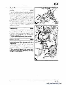 Komatsu Perkins 1000 Series Diesel Engline Shop Manual