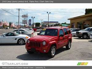 Flame Red - 2003 Jeep Liberty Limited 4x4