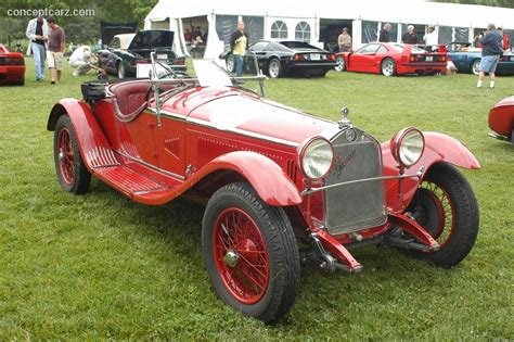 1931 Alfa Romeo 6c 1750 At The Concours D'elegance At Ault