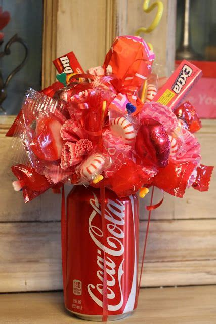 Miss Kopy Kat How To Make A Soda Can Candy Bouquet  Feeling Crafty  Pinterest  Sodas, Can Of