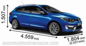 Dimension Coffre Megane 3 Estate : dimensions des voitures renault longueur x largeur x hauteur ~ Medecine-chirurgie-esthetiques.com Avis de Voitures
