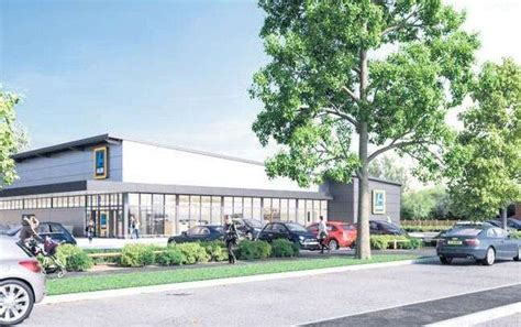 plans  open  aldi store  kengate industrial estate