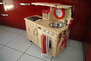 jouet en bois cuisiniere pour enfant With fabriquer une cuisine en bois pour enfant
