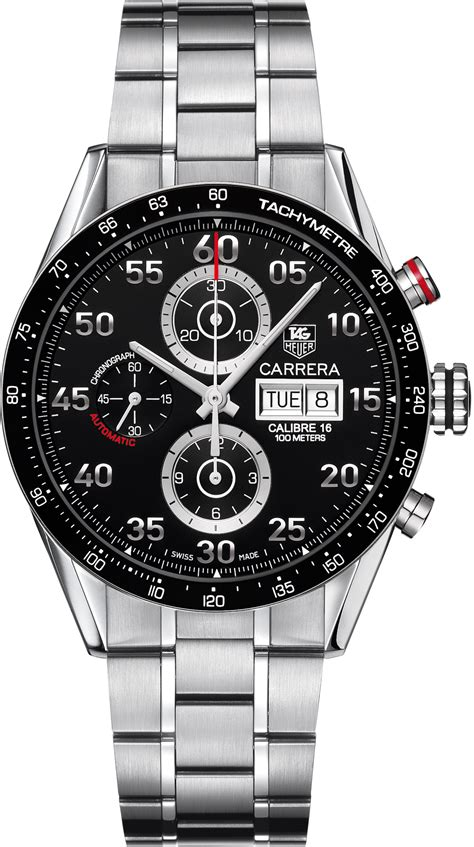 Tag Heuer Carrera Automatic Day Date Caliber 16 Watch