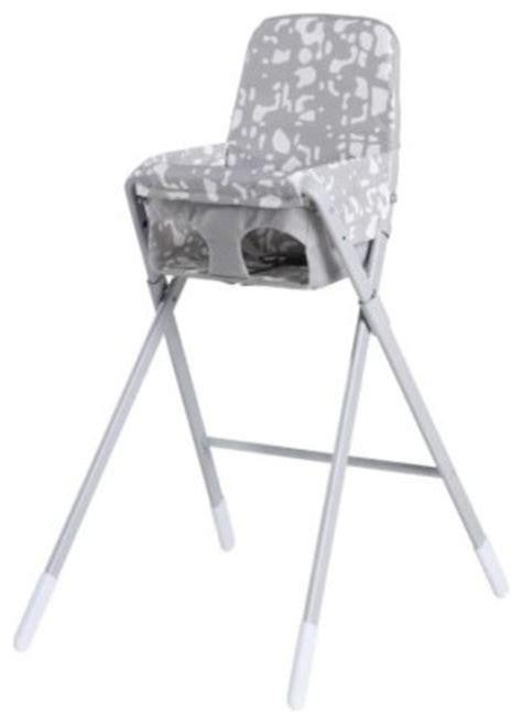 spoling highchair with safety belt scandinavian high
