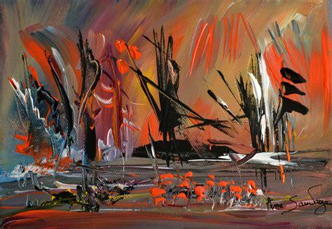 dessous de bureau peinture abstraite et contemporaine peintre ame sauvage