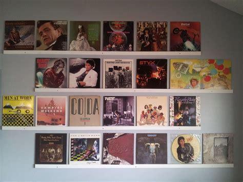 hang    vinyl records record wall record