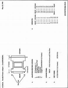 Parallel Printer Adaptor Cc2013a Manuals