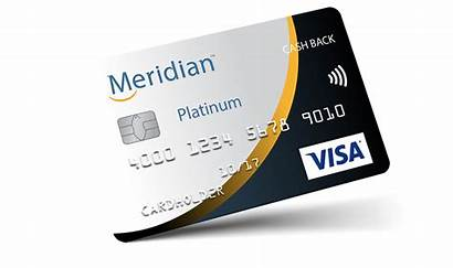 Credit Cards Meridian Card Visa Cash Platinum
