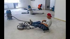 Broušení betonové podlahy svépomocí