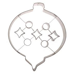 extra large ornament  insert cookie cutter rm