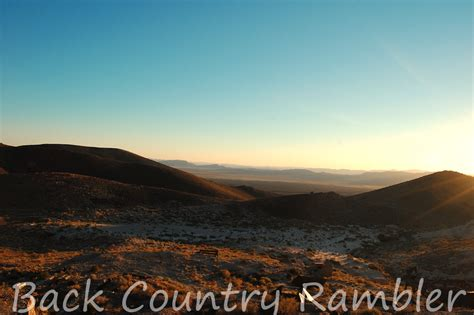 bureau des mines back country rambler bonanza days of delamar nevada