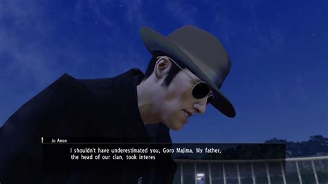 yakuza  jo amon   easily beat jo amon  damage