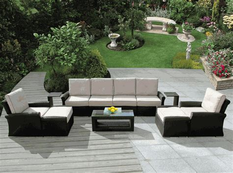 beautiful outdoor patio wicker furniture seating 11