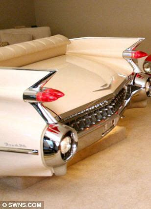 cadillac sofa a porsche tv and cadillac sofa meet the petrolhead who decked out his living room with