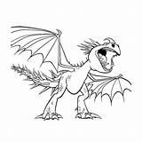 Draak Tem Tandloos Stormfly Leukvoorkids Draken Kleurplatenpagina Uitprinten Downloaden sketch template