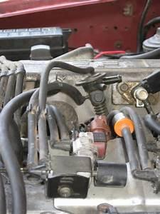 92 - 22re A  C Actuator  Vacuum Hose Route