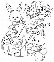 HD Wallpapers Easter Coloring Pages Dltk